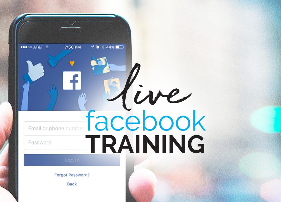 Live Facebook Training