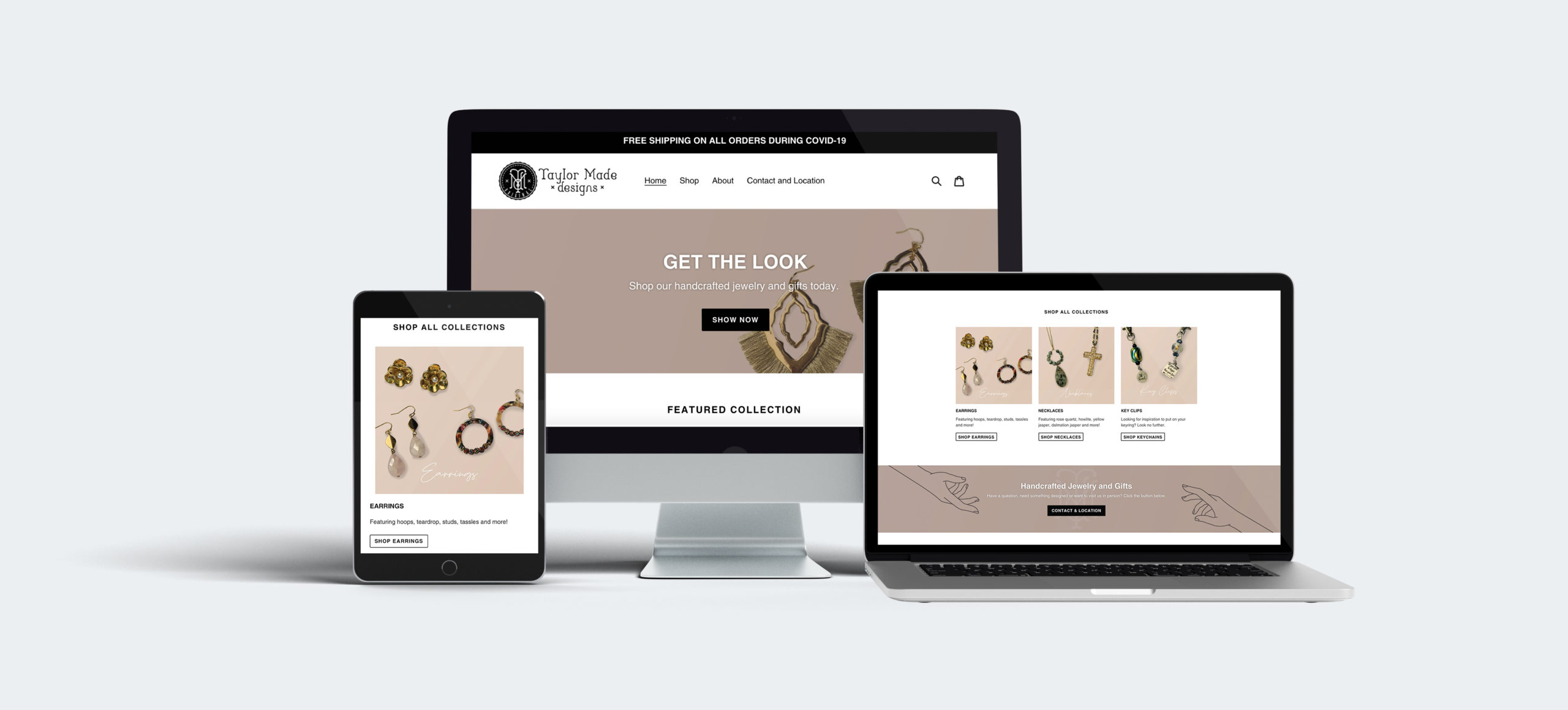 shopify website design and development