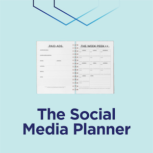 The Social Media Planner Product Page
