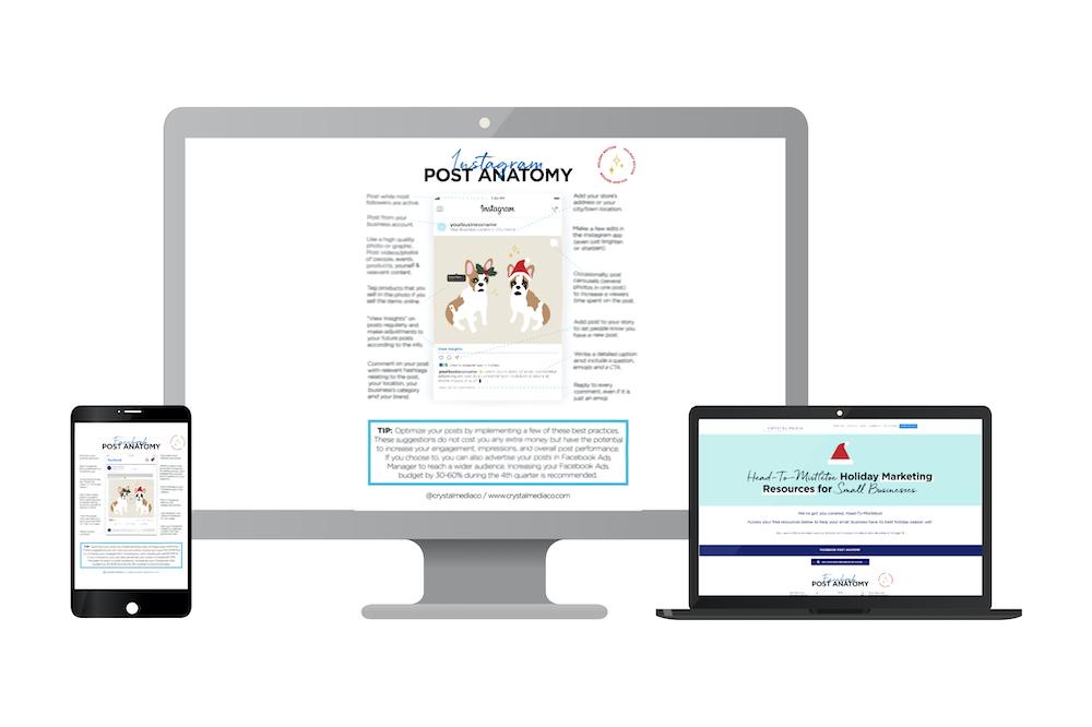 Head-To-Mistletoe Marketing Resource - Holiday Posting Strategies