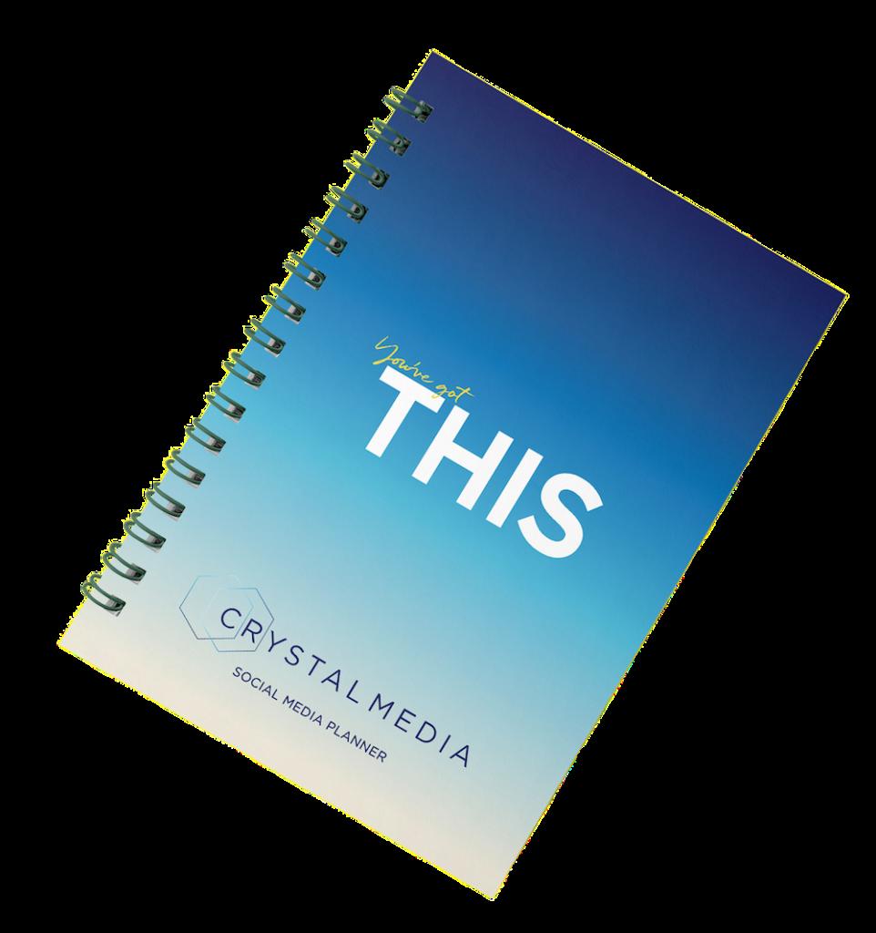 Social Media Planner Front Cover