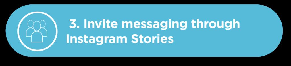 Invite messaging