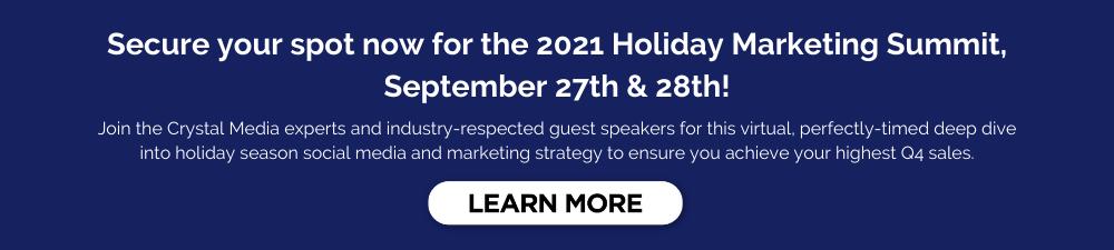 Holiday Marketing Summit