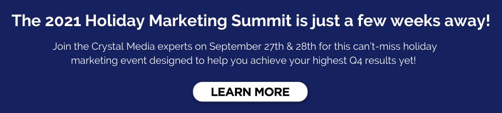 Holiday Marketing Summit 2021