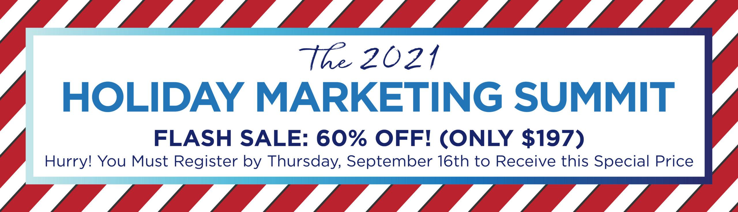Holiday Marketing Summit Banner Flash Sale 2-01