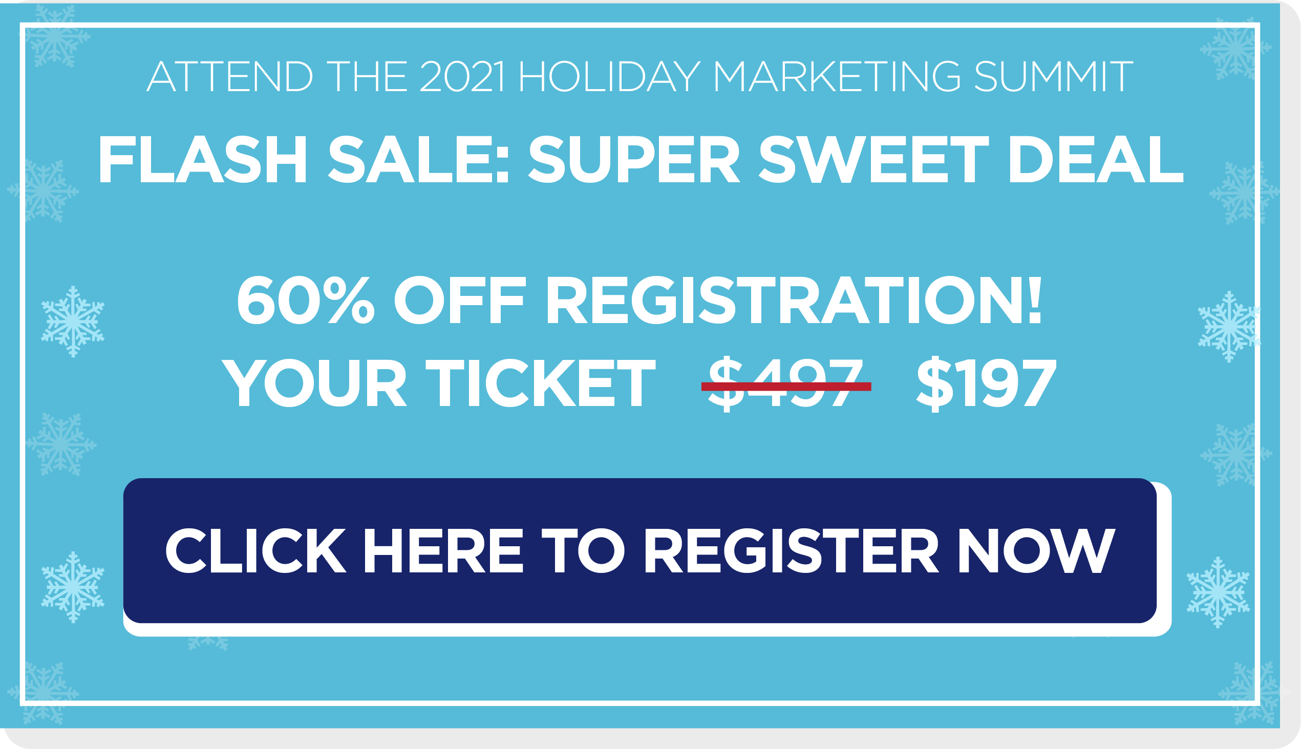 Holiday Summit Sales Button 6