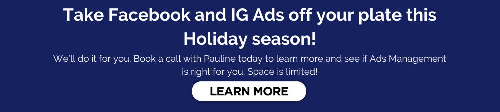 Facebook and IG Ads Management